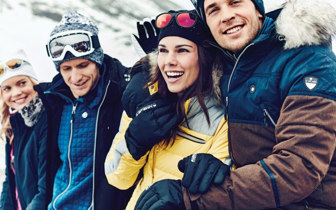 V zimě stylově v oblečení Icepaek a Luhta